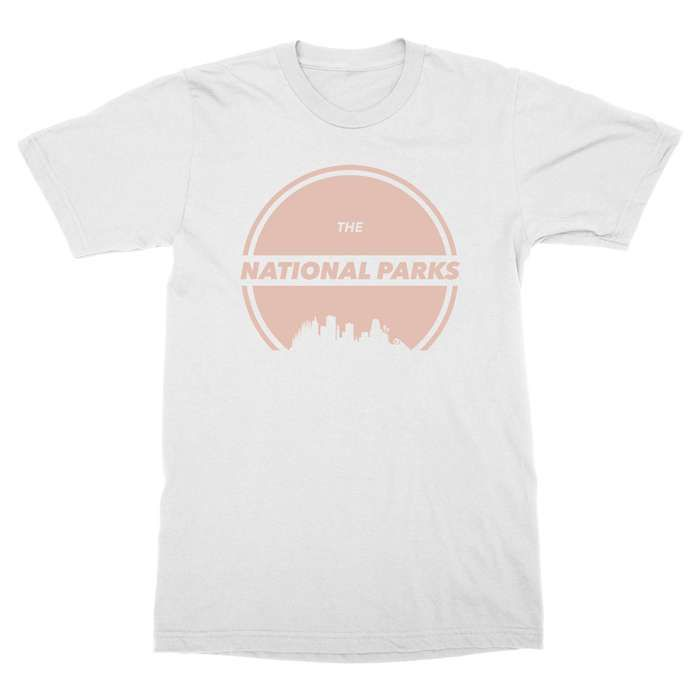 Places - White tee - The National Parks