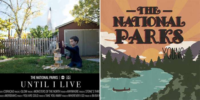 Until I Live and Young LPs - Vinyl Bundle - The National Parks