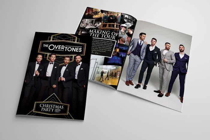 Signed 2019 Tour Brochure - The Overtones