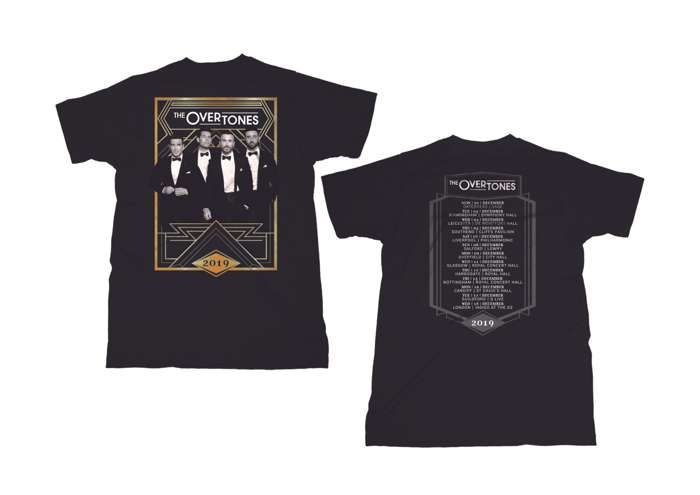The 2019 Tour T-Shirt - The Overtones