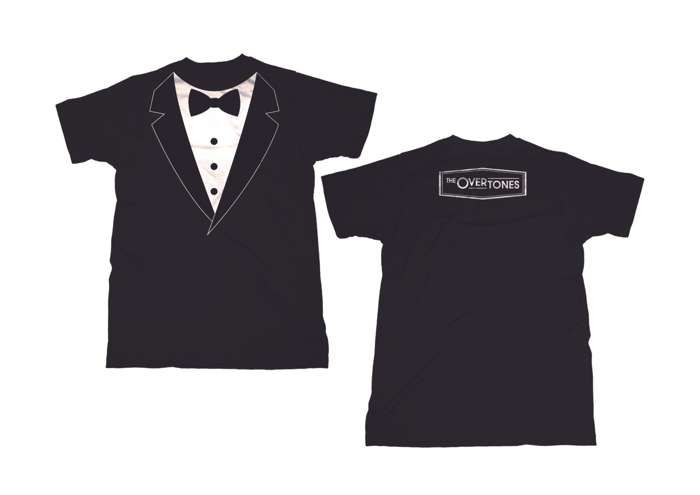 The Tux T-Shirt - The Overtones