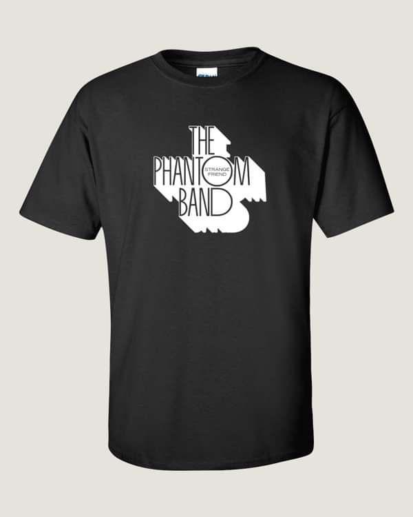 THE PHANTOM BAND LOGO T SHIRT (BLACK) - The Phantom Band