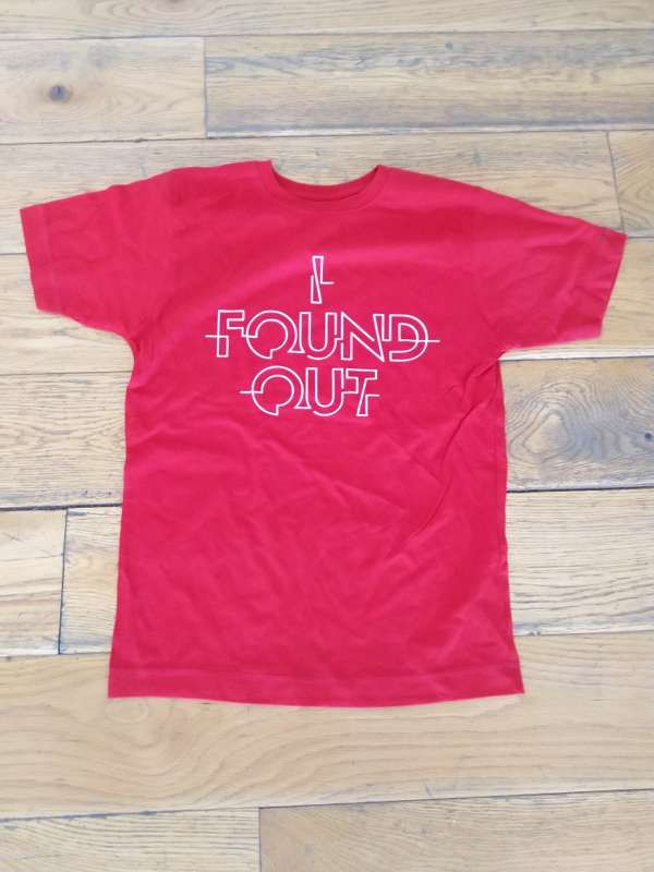I Found Out - Red T-Shirt - The Pigeon Detectives