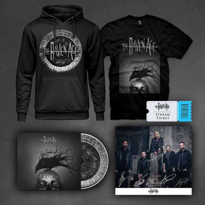 Exile - CD & Merch Bundle - The Raven Age US