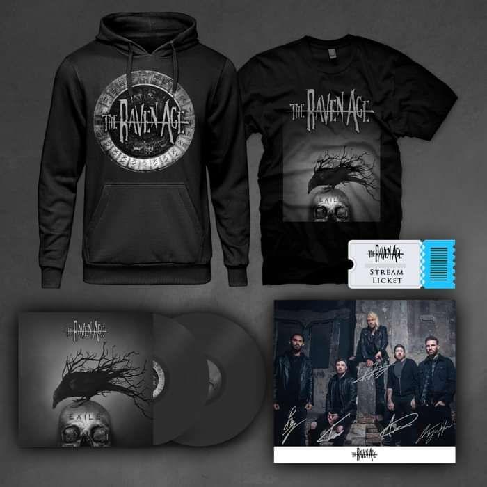 Exile - Vinyl & Merch Bundle - The Raven Age US