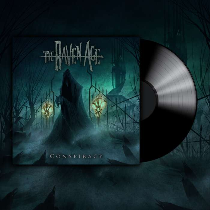 'Conspiracy' Ticket and Vinyl Album Bundle - The Raven Age