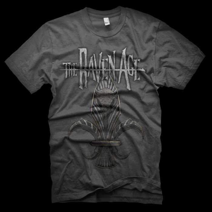 Fleur de lis T-Shirt - The Raven Age