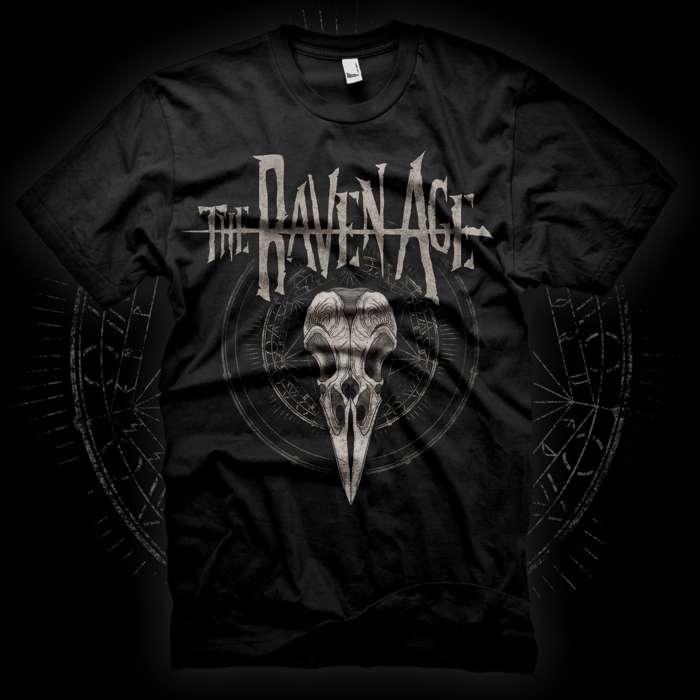 Raven Skull T-Shirt - The Raven Age