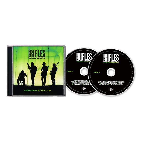 Great Escape (Anniversary Edition) - CD - The Rifles