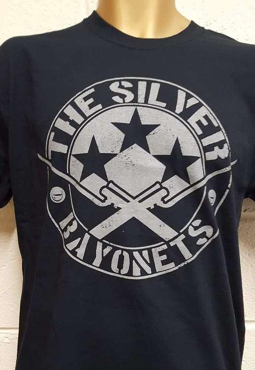 T-SHIRT - THE SILVER BAYONETS (CIRCULAR LOGO) - The Silver Bayonets