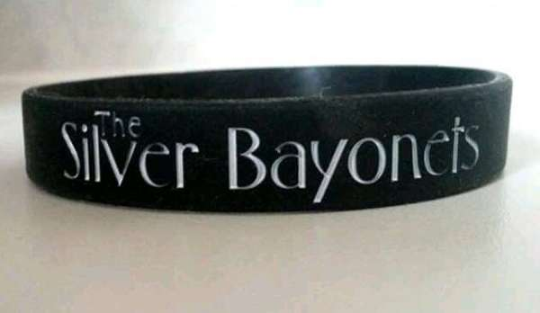 x3 WRISTBANDS - The Silver Bayonets