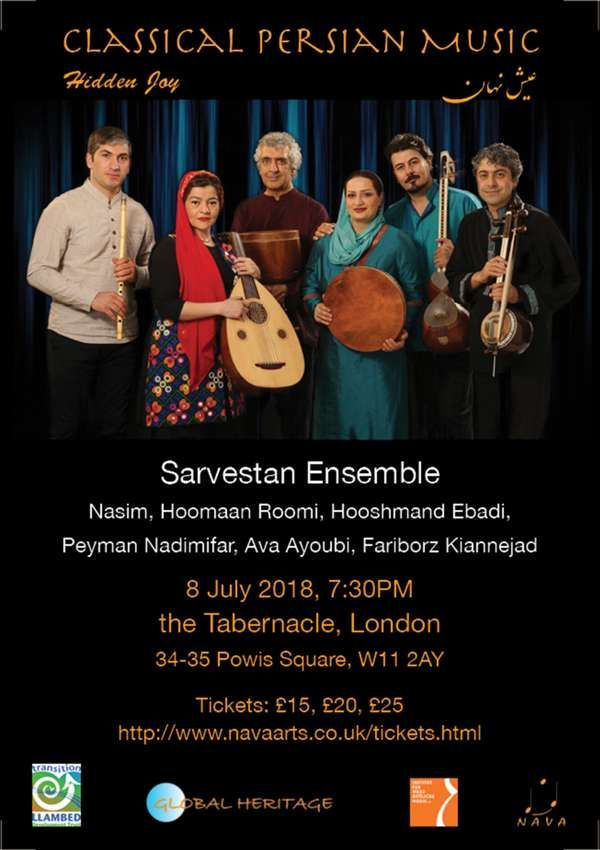 Hidden Joy Classical Persian Music by the Sarvestan Ensemble