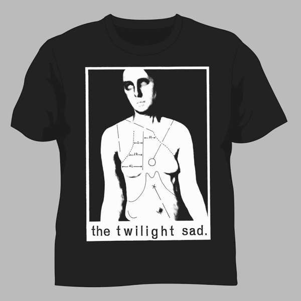 NOCEK Album - Unisex T Shirt - The Twilight Sad
