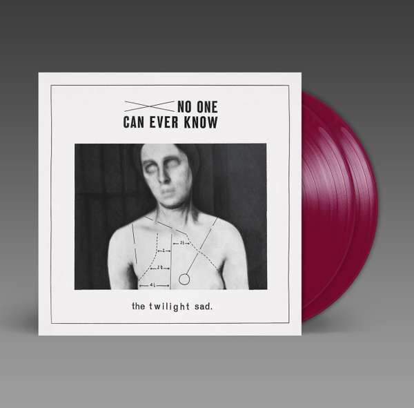 ** No One Can Ever Know ** BURGUNDY VINYL ** - The Twilight Sad