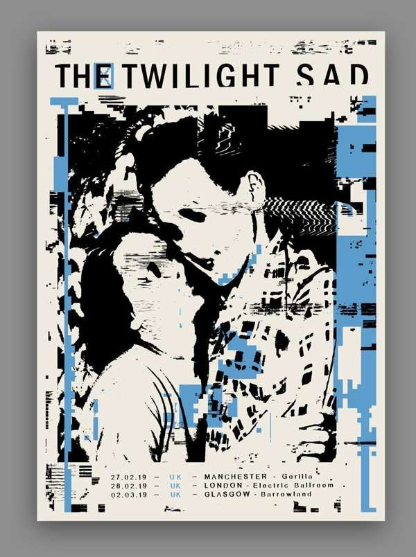 UK 2019 Print - The Twilight Sad