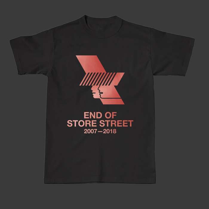 Black WHP 2018 Logo & Line Up Tee - The Warehouse Project