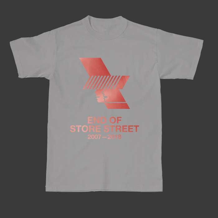 Sport Grey WHP 2018 Logo & Line Up Tee - The Warehouse Project