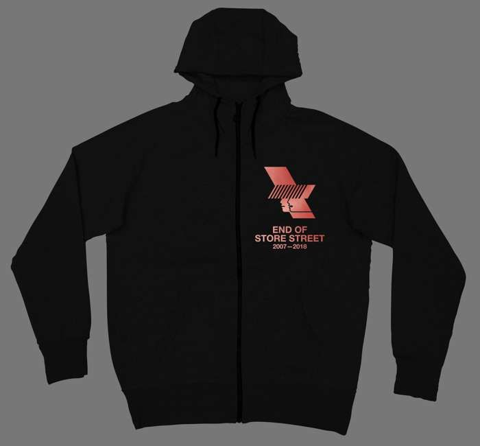 WHP 2018 Zip Up Hoody - The Warehouse Project