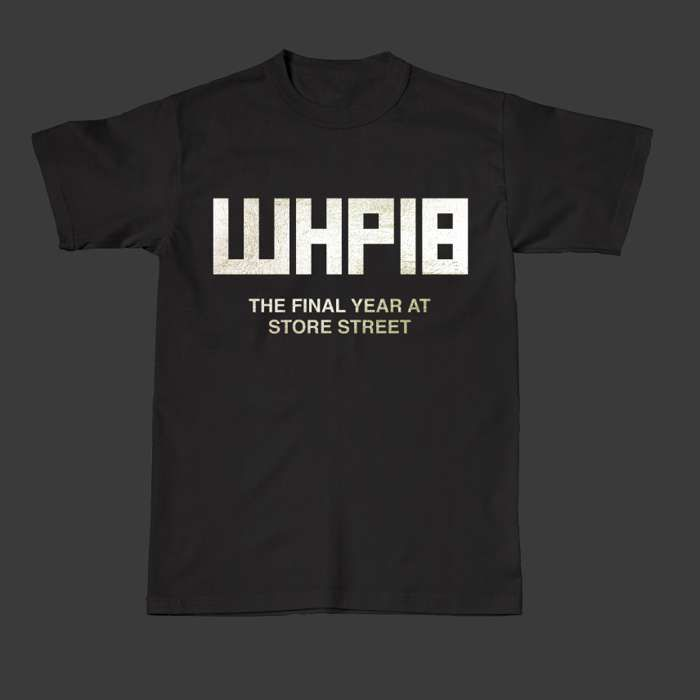 WHP18 Foil Print Tee - The Warehouse Project