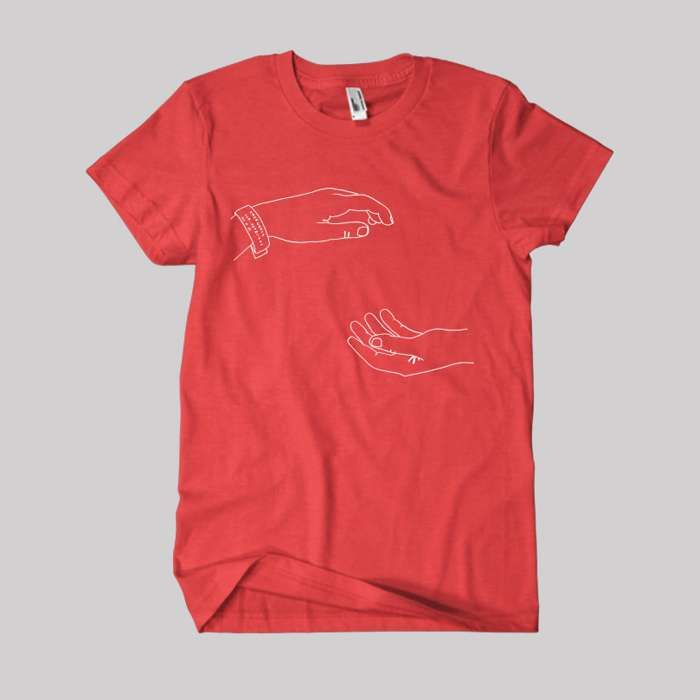 Hospice 10 Year Anniversary Tour T-Shirt Red - The Antlers