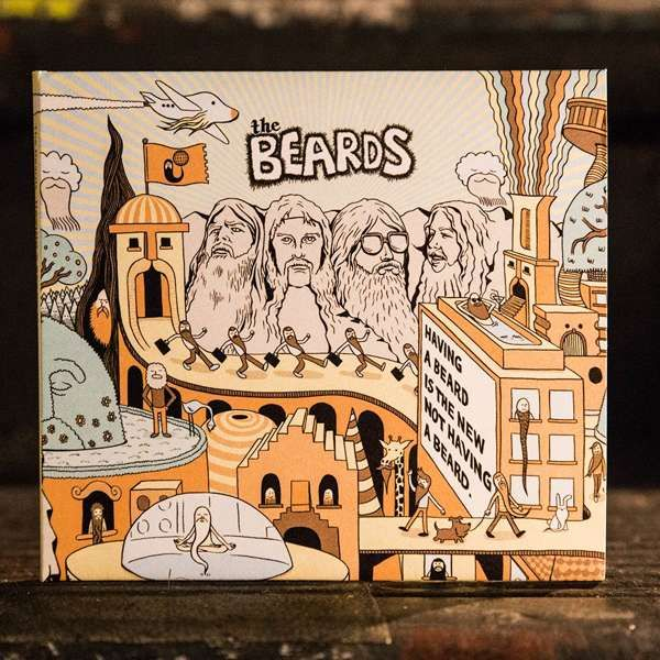 Having a Beard is the New Not Having a Beard - CD - The Beards