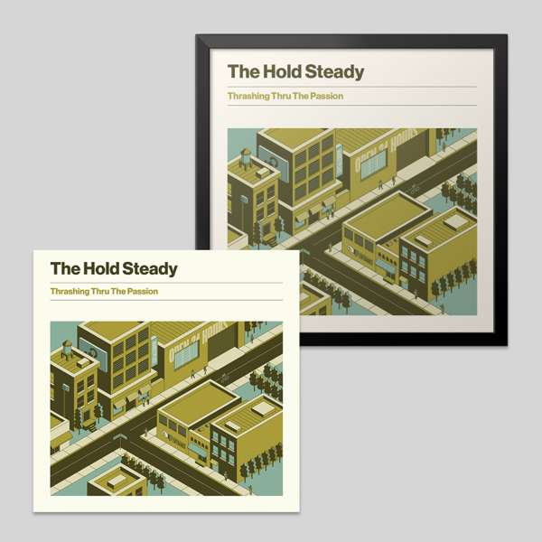 Album + 18x18 Limited Album Cover Poster Bundle - The Hold Steady