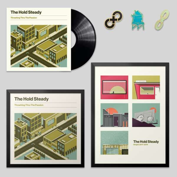 Deluxe Black LP Bundle - The Hold Steady