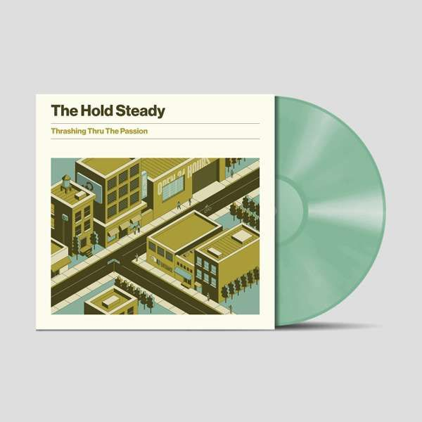 Thrashing Thru The Passion - Limited Edition Coke Bottle LP - The Hold Steady