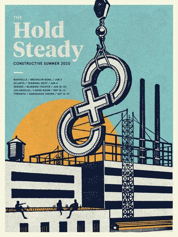 TWO-DAY PASS TICKET (Nashville + Atlanta) + Bus Round Trip - The Hold Steady