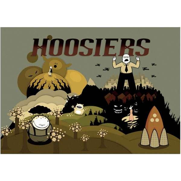 Hoosierland Poster - The Hoosiers