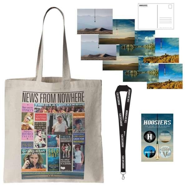 NFNW Tote, Postcards, Lanyard, Badges - The Hoosiers