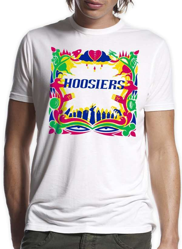 TTL Rainbow Cover T-Shirt - The Hoosiers