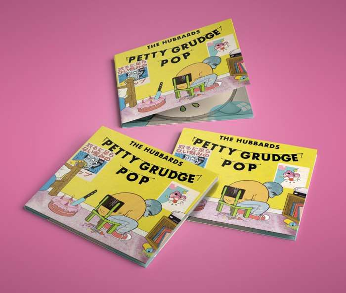 Petty Grudge Pop CD - The Hubbards
