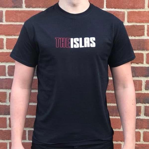 The Islas - Black T-shirt w/Origin Logo - THE ISLAS
