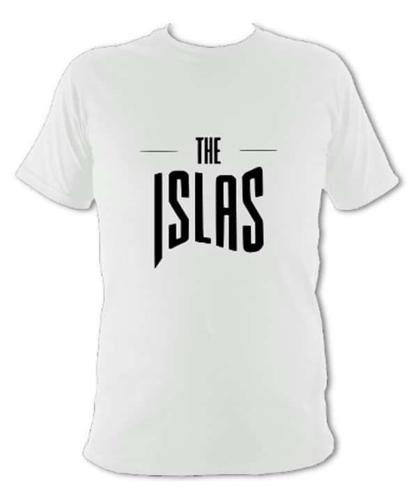 The Islas - White T-Shirt W/Logo - THE ISLAS
