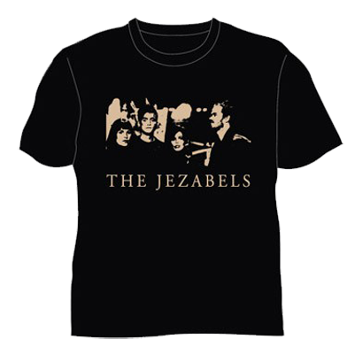 Faces T-Shirt - The Jezabels