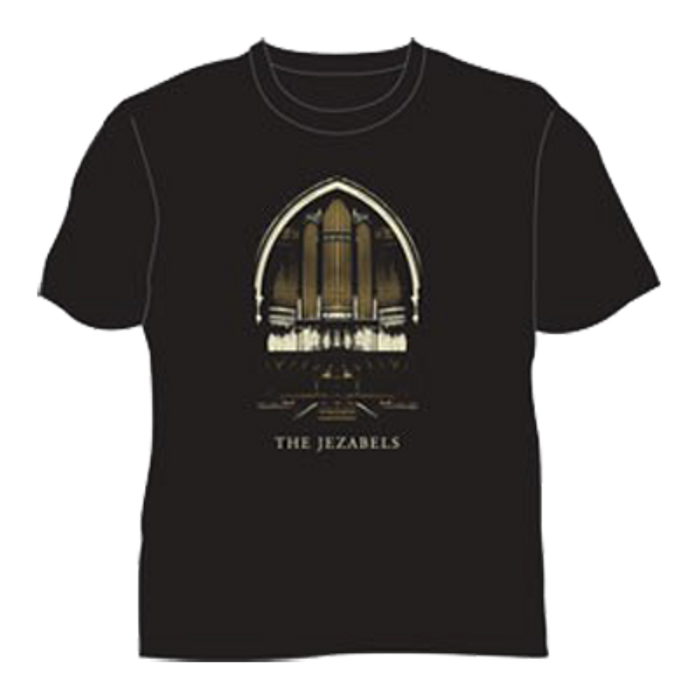 Organ T-Shirt (Black) - The Jezabels