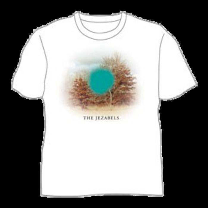 Turquoise Trees T-Shirt (White) - The Jezabels