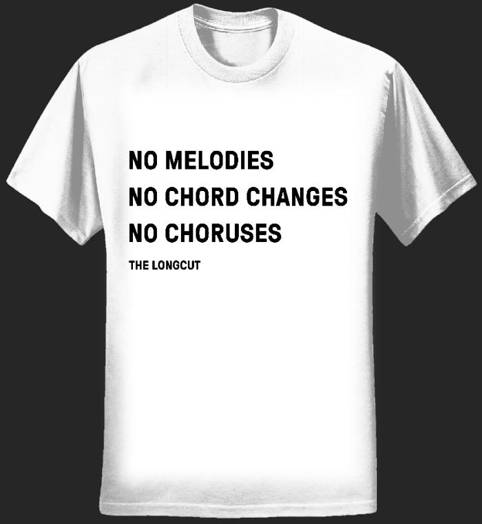 Women's No Chords T-Shirt (White) - The Longcut
