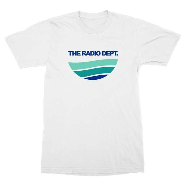 Blue-Green Color Waves Tee - The Radio Dept.