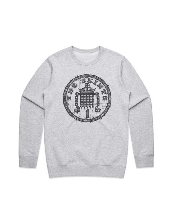 Penny Crewneck Sweater Grey - The Skints