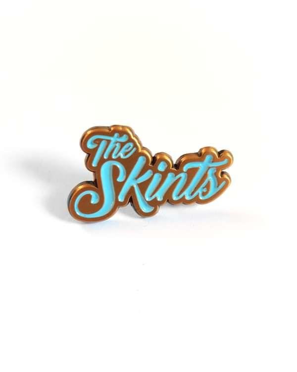 Soft Enamel Pin - The Skints