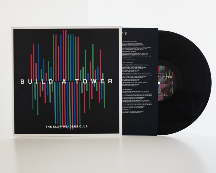 "Build A Tower - 12"" Vinyl - 2nd Pressing - Black - The Slow Readers Club"