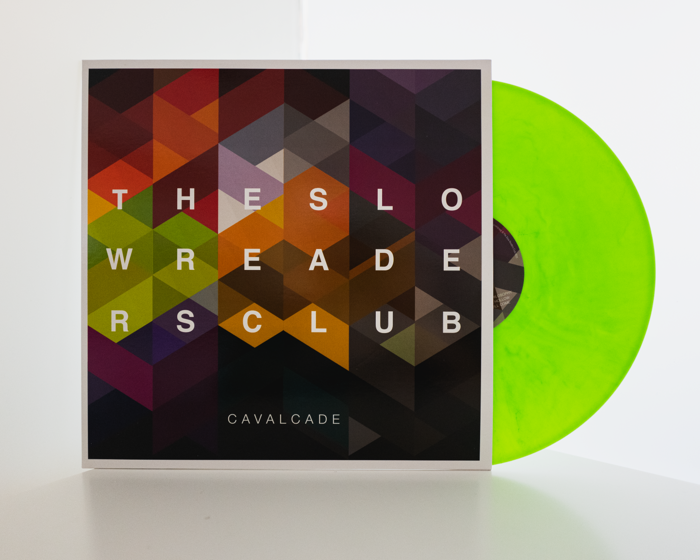 """Cavalcade - 12"""" Vinyl - 2nd Pressing - Lime Green - The Slow Readers Club"""