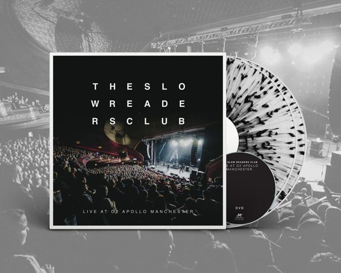Live at o2 Apollo Manchester 2xLP + DVD - The Slow Readers Club