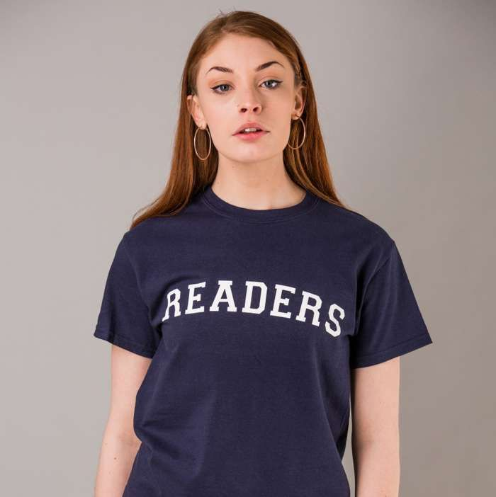 READERS T-Shirt - Blue - The Slow Readers Club