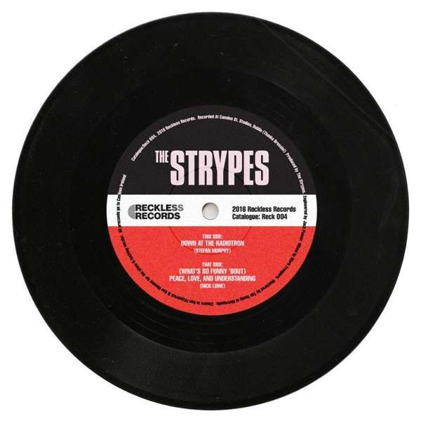 """'Down At The Radiotron / Peace, Love, and Understanding' limited edition 7"""" single - The Strypes"""