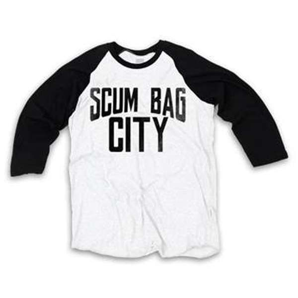Scum Bag City Baseball T-Shirt - The Strypes