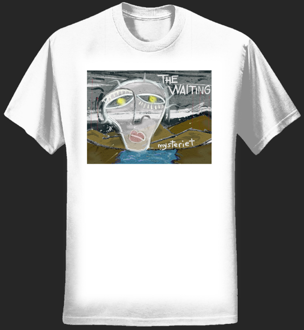 Mens Mysteriet Tee (White) - The Waiting