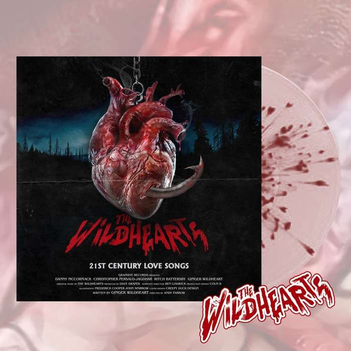 The Wildhearts - '21st Century Love Songs' Exclusive Splatter Vinyl + Sticker - The Wildhearts